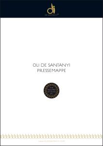 Pressemappe OLI DE SANTANYI